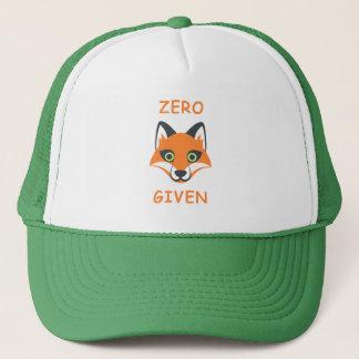 Boné Zero desenhos animados dados Fox na moda de Emoji