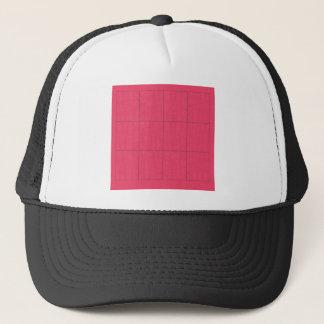 Boné Ziguezague cor-de-rosa dos elementos do design