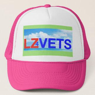 Boné Zona da aterragem de LZ4Vets para veterinários
