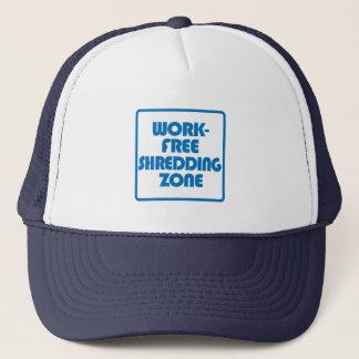 Boné Zona Shredding livre do trabalho