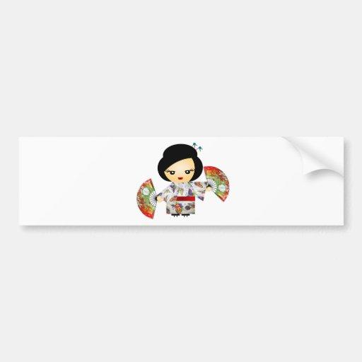 Boneca com Kimono Adesivo