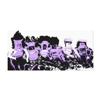 Boneca de pano de Lappenpop Impressão Em Tela