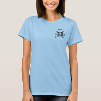Boneca do pirata: Eu penso, conseqüentemente eu Camiseta