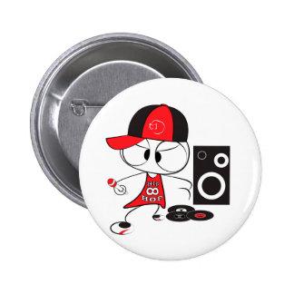 Boneca do rapper do hip-hop boton
