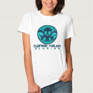 Boneca dos estúdios da nação do cianureto tshirts