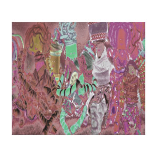 Bonecas de Spinderok Impressão Em Tela