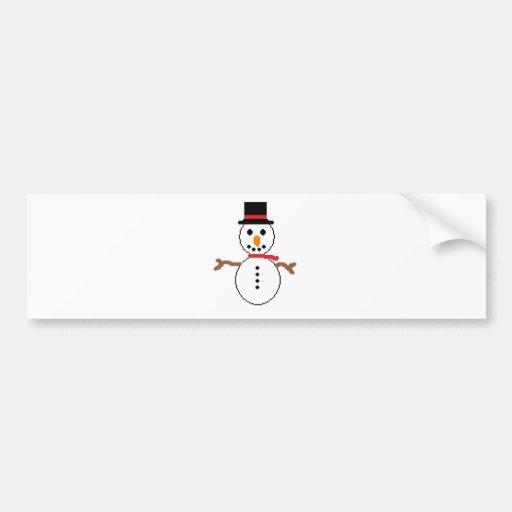 boneco de neve adesivos