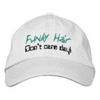 Bonés cómicos do cabelo Funky