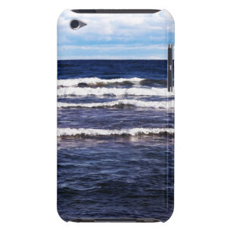 Bonés do branco do Lago Superior Capa Para iPod Touch