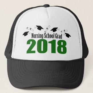 Bonés do formando 2018 da escola de cuidados e
