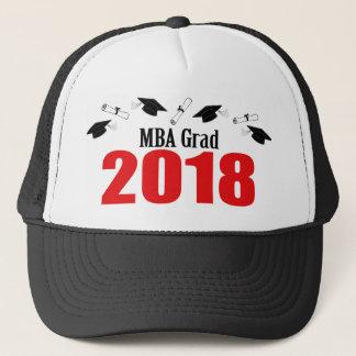 Bonés do formando de MBA e diplomas 2018