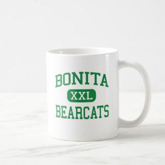 Bonita - Bearcats - alto - La Verne Califórnia Caneca