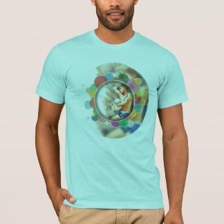 Bonita, com estilo e descontração camiseta