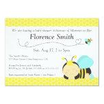 Bonito Bumble o tema da abelha, chá de fraldas do Convites Personalizados