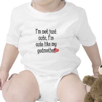 Bonito como minha madrinha camiseta
