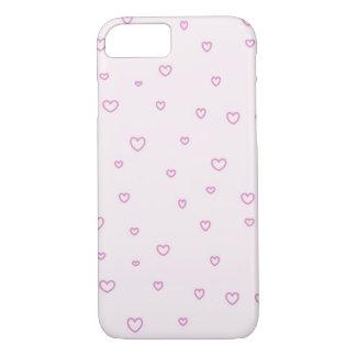 Bonito cor-de-rosa ouve capas de iphone