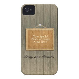 Bonito de madeira rústico como uma imagem capa para iPhone