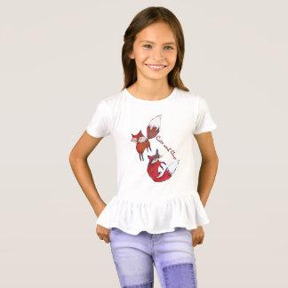 Bonito e inteligente camiseta
