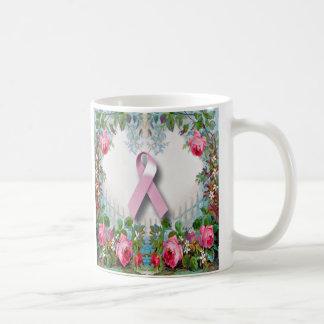 Bonito, feminino, caneca do sobrevivente do cancro