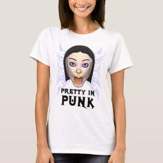 Bonito no t-shirt do punk camiseta