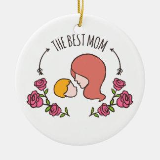 Bonito o melhor ornamento do dia das mães | da