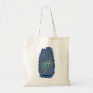 Bonito seguro inspirado do divertimento da arte do bolsa tote