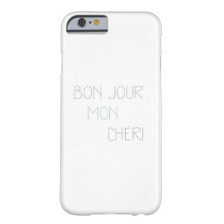 Bonjour segunda-feira Cheri Capa Barely There Para iPhone 6