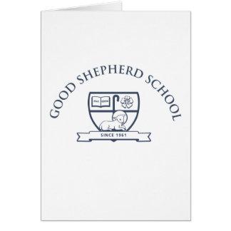 Bons cartões de nota da escola do pastor