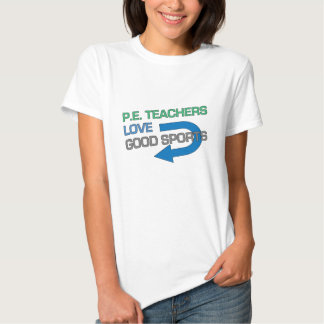 Bons esportes de P.E. Professor Como Tshirts