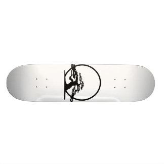 Bonsais contra o design gráfico da imagem do esboç shape de skate 18,7cm