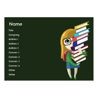 Bookgirl - carnudo cartao de visita