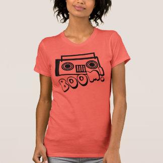 Boombox Funky bonito com CRESCIMENTO Camiseta