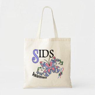 Borboleta 2 SIDS do vitral Bolsas Para Compras
