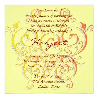 Borboleta amarela convites