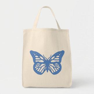 Borboleta azul bolsas