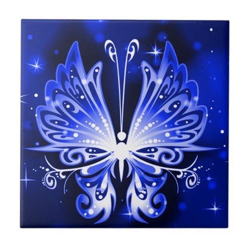 Borboleta Azulejos De Cerâmica