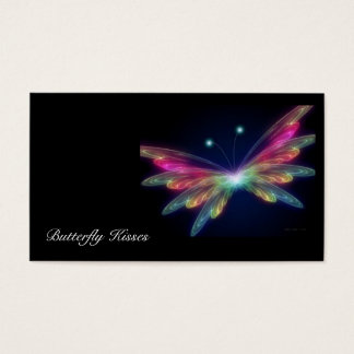 borboleta, beijos da borboleta cartão de visitas