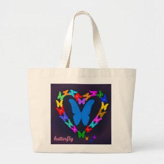 borboleta bolsas para compras