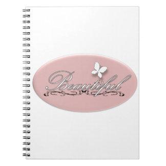 Borboleta bonita cadernos