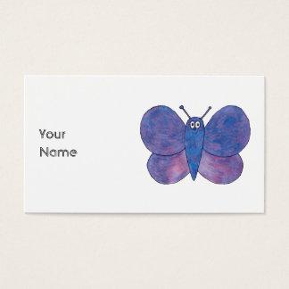 Borboleta bonito cartão de visitas