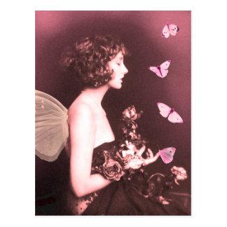 Borboleta, borboleta cartão postal