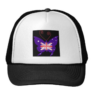 Borboleta britânica da diva boné