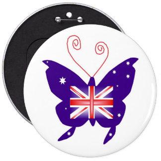 Borboleta britânica da diva botons