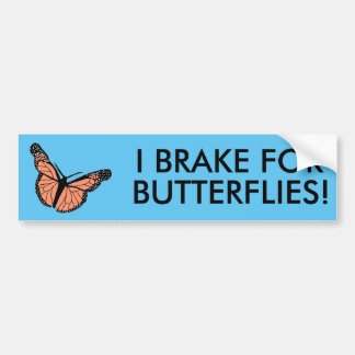 Borboleta bumpersticker. adesivo para carro