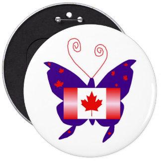 Borboleta canadense da diva pins