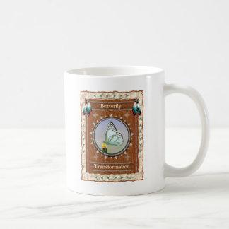 Borboleta - caneca de café clássica da