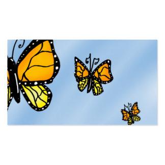 borboleta cartão de visita