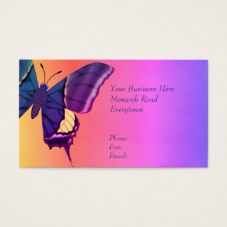 Borboleta Cartão De Visitas