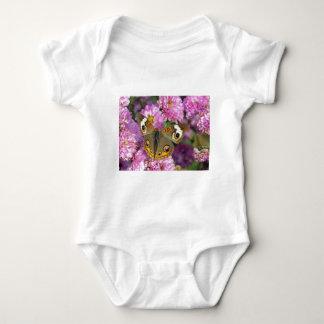 Borboleta comum do Buckeye Body Para Bebê