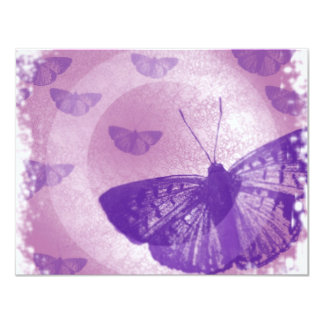 borboleta convite 10.79 x 13.97cm